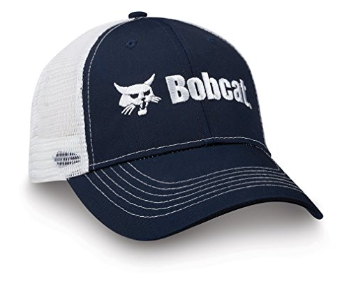 Bobcat 250376 Navy Blue/White One Size Cap (Front panel  mesh back) from Bobcat