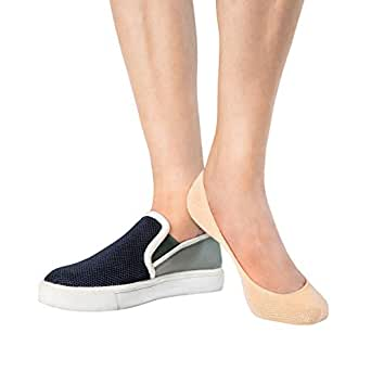b0df140ae443 Amazon.com: Thirty48 Women's No Show Loafer Socks, Boat Shoe Liners ...