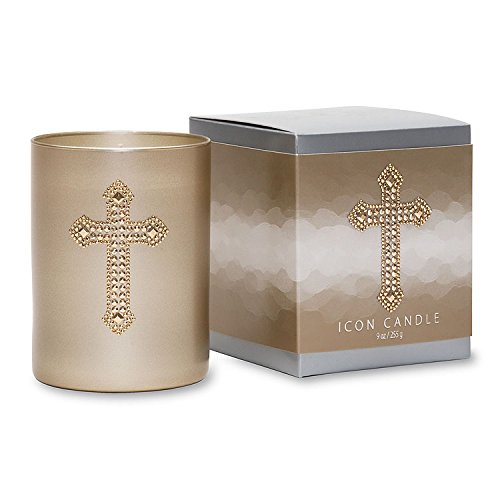 Primal Elements Cross Icon Candle 9-Ounce