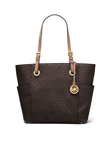 MICHAEL Michael Kors Large Jet Set Signature Tote, Brown/Fawn by Michael Kors