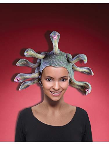 Forum Novelties Women's Medusa Costume Headpiece, Green, One Size