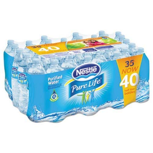 Nestle Pure Life Purified Water (16.9 oz. bottles, 40 pk.)vevo by Nestle