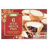 ASDA Iced Mince Pies - 6 Pk