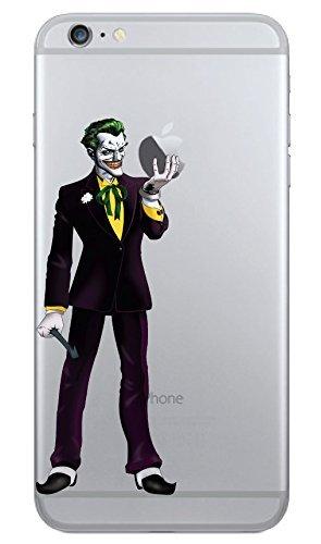iPhone 6 Plus  Joker Holding Apple Vinyl Decal Sticker i6+