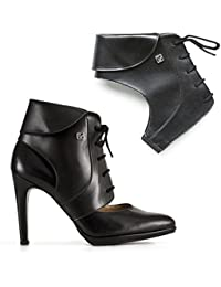 Ankle Boots Shoe accessories Detachable Shoe Straps To Transform Your Pumps and Walk Comfortable In High Heels (Size S,M,L), Available In Black and Brown.