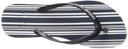 X A Printed Exchange Armani Flop Women Flip Navy Armani Exchange A6qrd6