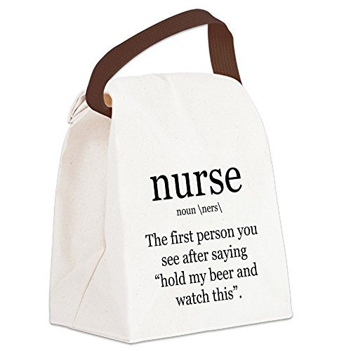 CafePress nurse definition Canvas Handle
