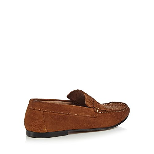Hammond & Co. by Patrick Grant Men Tan Suede 'Cambridge' Loafers 100% authentic cheap online cheap countdown package clearance factory outlet best prices for sale clearance footaction SmdfO5