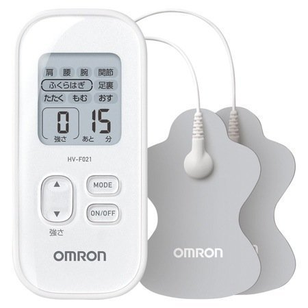 Omron Low-frequency Therapy Equipment White Hv-f021-wh