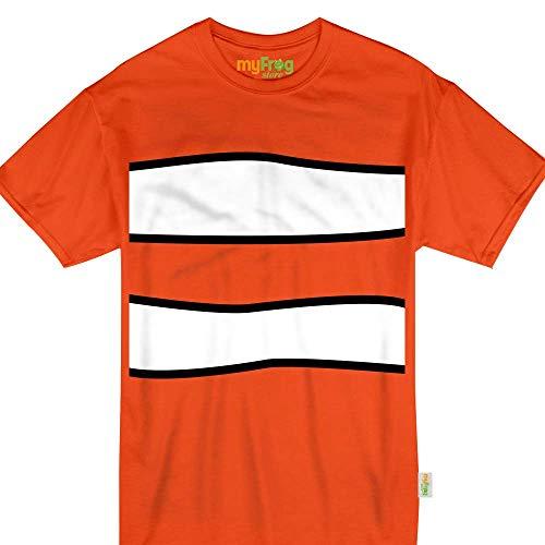 Clown Fish Animal Halloween Nemo Costume Funny Kids & Adult Tshirt -