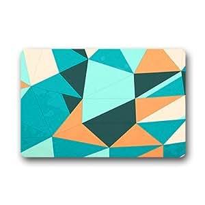"""Custom Polygonal shape Doormat Outdoor Indoor 23.6""""x15.7"""" about 59.9cmx39.8cm"""