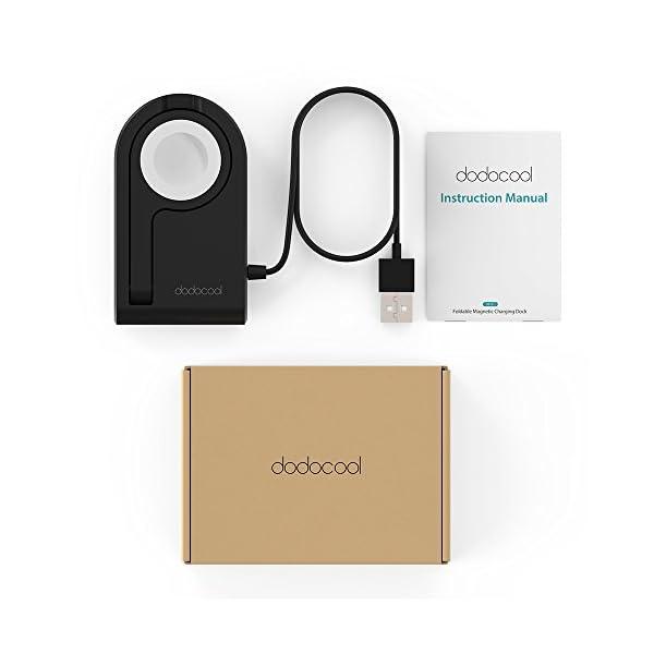 dodocool Caricatore per Apple Watch[MFi Certified], Charger Stand Magnetico Ricarica per iWatch, Compatibile con… 7 spesavip