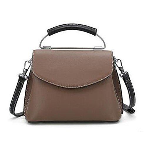 de mode CN Diagonal BRO sac portable en fête à de B cuir bandoulière Sac BXEXxZ
