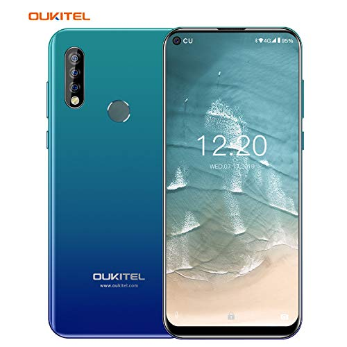 OUKITEL C17 PRro (2019) Smartphone Camera Phone Dual SIM Smart Phone Unlocked Cell Phone with Octa-Core 4+64GB 3900 mAh 6.35HD+ Screen Android 9.0 (Gradient)
