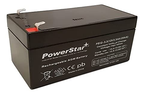 PowerStar battery replacement for APC Back UPS ES 350 - 3 year warranty (Ups Battery Apc 350)
