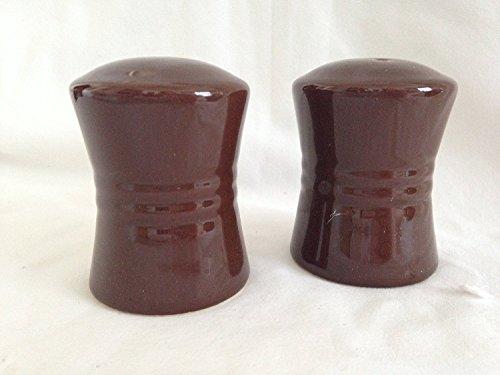 Salt & Pepper Shaker Set - Chocolate ()