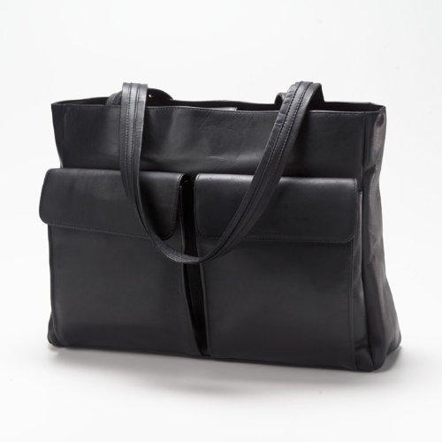 (Clava Two Pocket Tote - Vachetta Black)