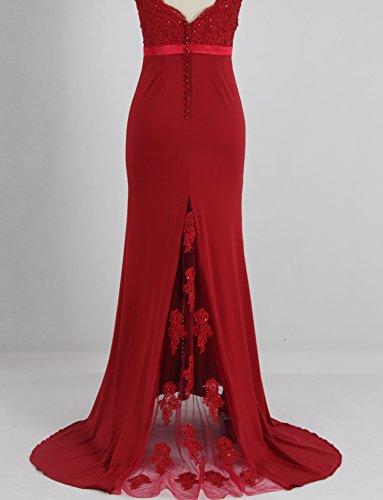 de demoiselle Robe dentelle dos Style10 bal robe d'honneur nu dentelle en sirne Royalblue Sweetheart dos en de fYfwqTBF