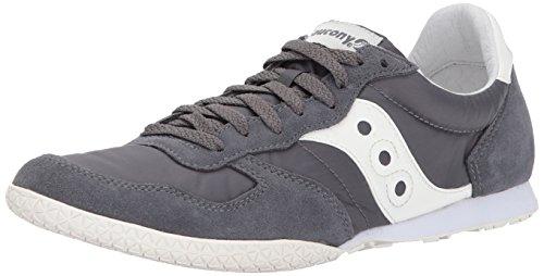 Saucony Originals Men's Bullet Sneaker, Grey Cream, 11 Medium (Saucony Originals Bullet)