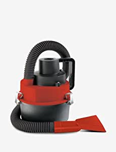 Shift3 16430620042 DC Wet and Dry Auto Vacuum, 12-volt, Red - Corded