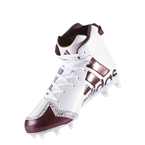 buy online 31c91 77812 ... Adidas Freak X Carbon High Cleat Mens Football Bianco-marrone