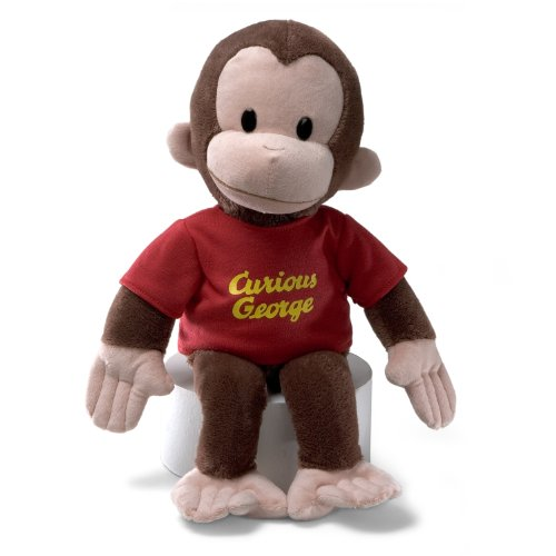 GUND Curious George Stuffed Animal Plush, 16