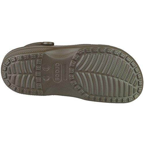 Croslite Brown Unisex Breathable Clog Brown Beach Mens Strap Classic Crocs 6fp7A7
