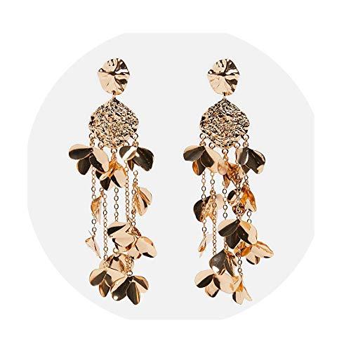 Crystal Drop Earrings Long Beads Tassel Dangle Earrings Bohemian Statement Earrings Wedding Party Jewelry Wholesale,27]()
