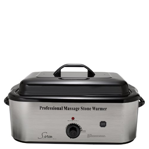 Sivan Health and Fitness 18QHTR Top Massage Large Professional Hot Stone 18 Quart Heater