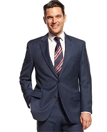 (Michael Michael Kors Men's Suit Jacket (Blue, 38 Short))