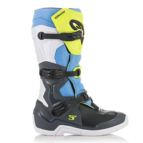 3 Yellow Grey multicolore Yellow road nbsp;pour Cyan Tech Cool Bottes Motorycle Cool homme Alpinestars Grey Off Cyan 11 1nv5awx