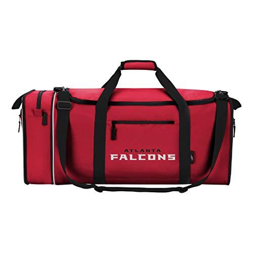 Officially Licensed NFL Atlanta Falcons Steal Duffel Bag (Storage Concepts Atlanta)
