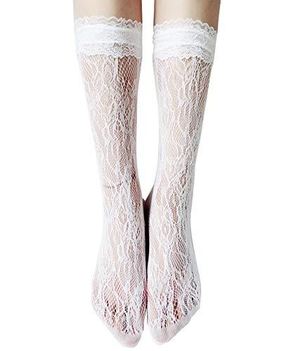 [로리타 의상] Lolita House 총레이스 하이 삭스 귀여운 로리타 lolita 레이스 양말