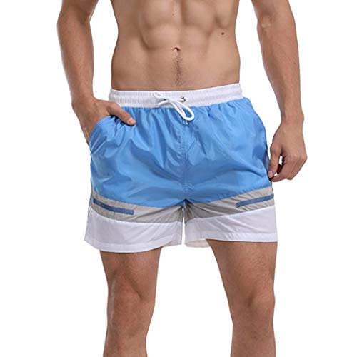 Fashion Men's Strapped Hawaiian Beach Fit Sport Quick Dry Casual Shorts Pants, Mmnote