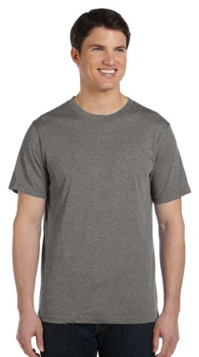 Bella + Canvas Unisex Triblend Short-Sleeve T-Shirt, 4XL, GREY TRIBLEND
