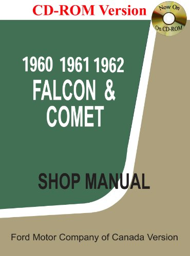 - 1960-62 Falcon and Comet Shop Manual (Canadian)