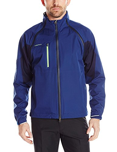 Zero Restriction Men's Pinnacle Traveler Jacket X-Large Deep Blue/Pique Green [並行輸入品]