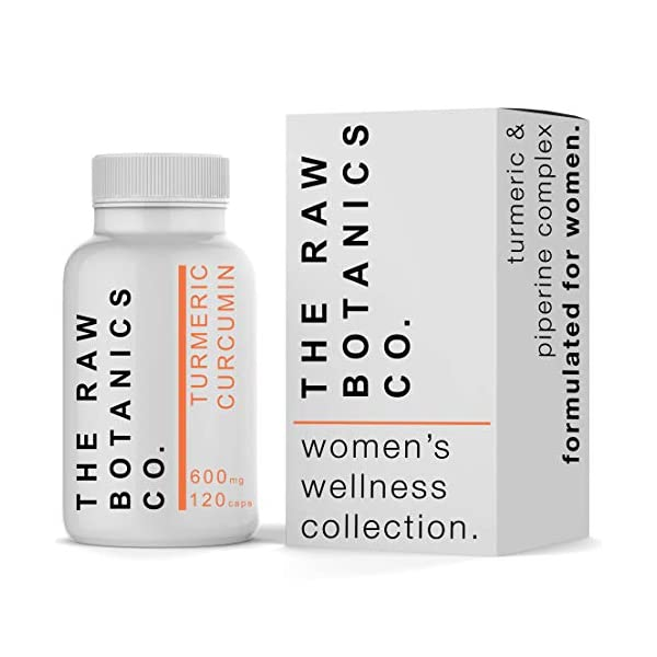 Botanicsandme • Turmeric Curcumin Complex • Women's Wellness Collection • 600mg 120 Capsules