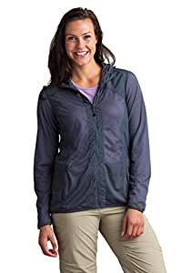 ExOfficio Women's BugsAway Damselfly Jacket, Carbon, X-Small