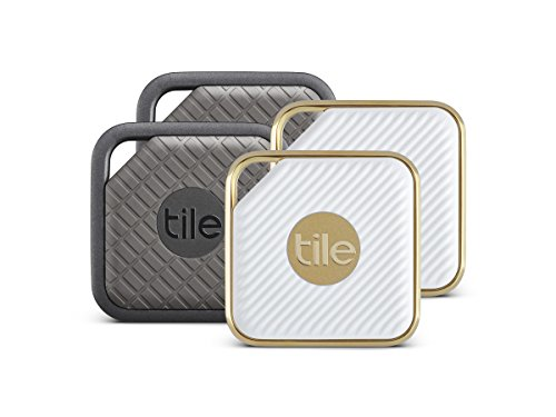 (Tile Combo Pack - Key Finder. Phone Finder. Anything Finder (2 Tile Sport and 2 Tile Style) - 4 Pack)