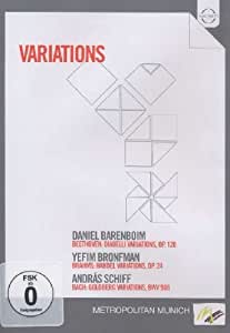 Variations Featuring Barenboim Bronfman & Schiff [Import]