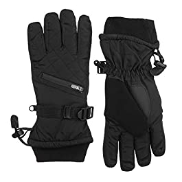 Isotoner Women's Ski Gloves, Waterproof and Windproof Insulated for Cold Weather