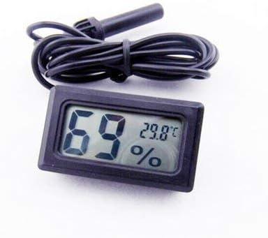 Itian Termómetro Digital Higrómetro Temperatura del Reptil Medidor ...
