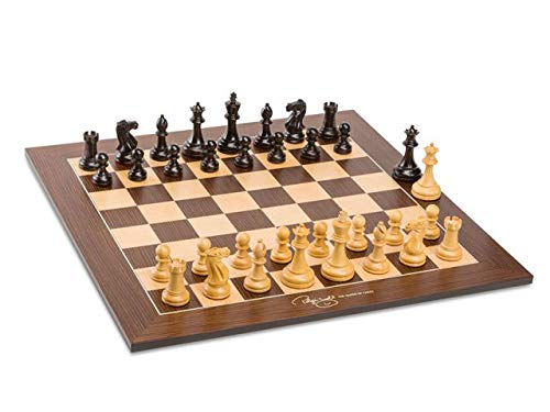 Professional Judit Polgar Deluxe Tournament Chess Set Signed Board, Pieces and Signed Box - -
