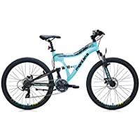Bianchi Montana D Erkek Dağ Bisikleti, Mat Turkuaz/Siyah/Sarı