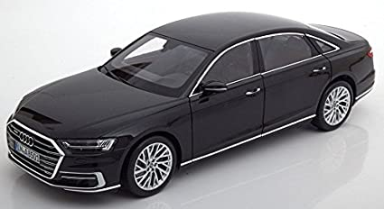 Amazon Com Norev Audi Custom 1 18 Audi A8 L Black 2017 Toys Games