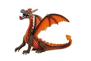 Bullyland 75595 - Figura de dragón color naranja
