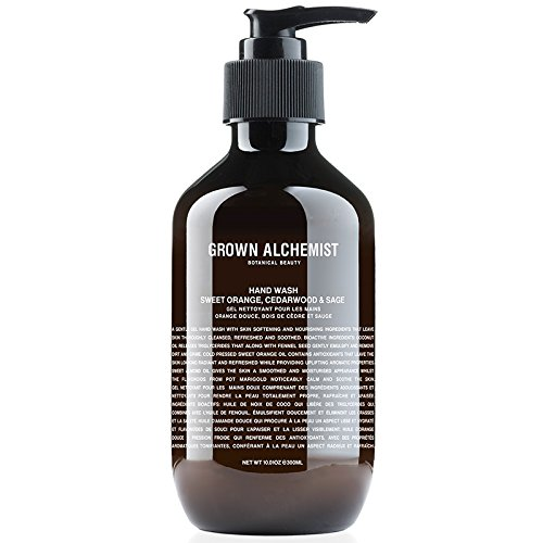 Grown Alchemist   Hand Wash  Sweet Orange  Cedarwood  Sage  10 14 Fl  Oz   300 Milliliter