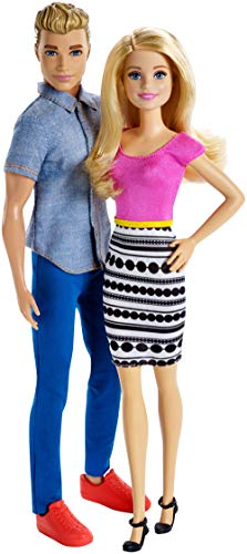 Barbie and Ken Doll (2 Pack)