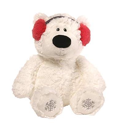 "GUND Blizzard Teddy Bear Holiday Stuffed Animal Plush, White, 24"""